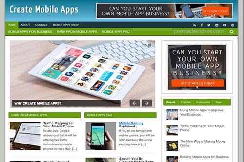 create mobile apps plr blog
