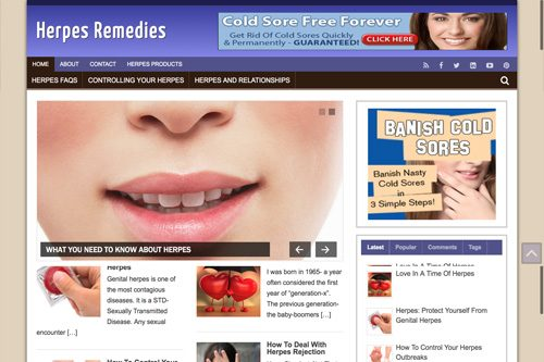 Herpes blog sites