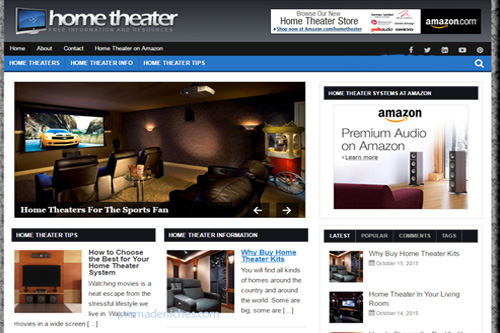 home theatre plr blog