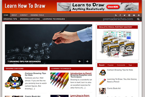 learn to draw plr blog