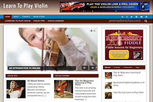 learn violin plr blog
