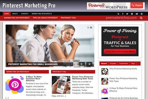 pinterest marketing plr blog