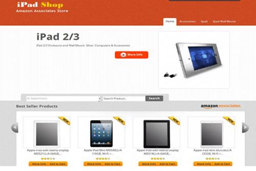 amazon affiliate ipad store